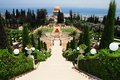 The Bahai Shrines in Haifa Stock Photography