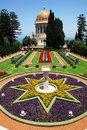 The Bahai Shrines in Haifa Royalty Free Stock Photo