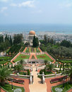 Bahai Srine and Garden, Israel Royalty Free Stock Images
