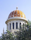 Bahai temple haifa Royalty Free Stock Image