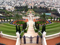 Bahai temple and terraces, Haifa, Israel Royalty Free Stock Photography