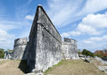 Bahamian Historic Fort Royalty Free Stock Photo