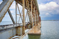 Bahia Honda Rail Bridge Royalty Free Stock Photo