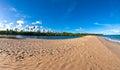 Bahia sandbank on beach close to praia do forte brasil Stock Image