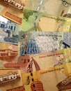 Bahrain currency Royalty Free Stock Photo