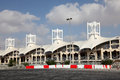 Bahrain international circuit in manama middle east Royalty Free Stock Images