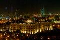 Bahrain Skyline at Night Royalty Free Stock Photo