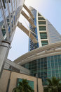 Bahrain World Trade Center, Manama, Bahrain Stock Photography