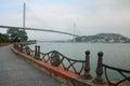 Bai Chay Bridge during the day Royalty Free Stock Photo