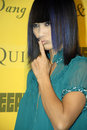 Bai Ling on the red carpet. Royalty Free Stock Photo