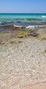 Baia verde beach near gallipoli salento italy Stock Photo