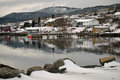 Baie verte newfoundland the calm before the storm in Stock Images