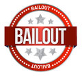 Bailout seal Stock Photos