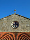 Baiona Church Royalty Free Stock Photography