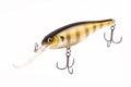 Bait for fishing - wobbler on white Stock Photography