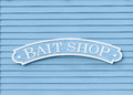 Bait Shop Sign Royalty Free Stock Photo