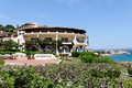 Baja sardinia sardinia italy may casablanca hotel in baj on Royalty Free Stock Photo