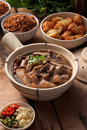 Bak kuh teh Stock Photography
