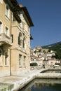 Bakar old hotel Jadran, Adriatic Royalty Free Stock Photography