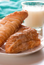 Baked Apple Turnover Royalty Free Stock Photography