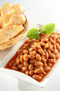 Baked Bean Stock Image