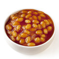 Baked Beans Isolated Stock Photography