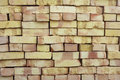 Baked bricks Stock Photography