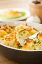 Baked Cauliflower Stock Photos