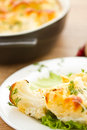 Baked Cauliflower Royalty Free Stock Images
