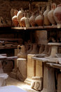 Baked clay pots Stock Photography