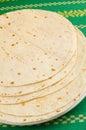 Baked tortillas Royalty Free Stock Photo