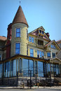 Baker House Victorian Mansion Royalty Free Stock Photo