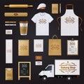 Bakery Corporate Identity Template Design Set
