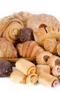 Bakery foodstuffs set Stock Photos