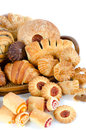 Bakery foodstuffs set Royalty Free Stock Images