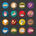 Bakery Icons, color. vector