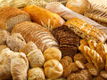 Bakery products arrangement with tasty Stock Image