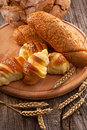 Bakery products fresh and delicious pastries Royalty Free Stock Photography