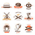 Bakery Shop Emblem Set