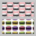 Bakery shop or pastry patisserie banners and posters templates set. Vector dessert cakes and pastry cupcakes, chocolate