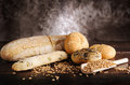 Bakes breads and cereals Royalty Free Stock Images
