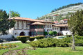Bakhchisaray, Crimea, ancient Khan`s Palace in sunny day