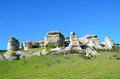 Bakhchisaray. Specially protected natural territory `Natural Sphinxes of valley Churuk-su in spring
