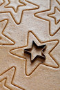 Baking christmas cookies Royalty Free Stock Photography