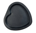 Baking dish in the shape of heart Royalty Free Stock Photo