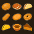 Baking icon set this is file of eps format Stock Images