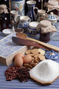 Baking ingredients Royalty Free Stock Image
