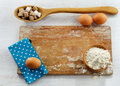 Baking ingredients Royalty Free Stock Photos