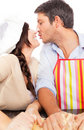 Baking love couple Royalty Free Stock Images