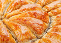 Baklava background Royalty Free Stock Photography